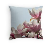 Magnolia Trio Throw Pillow