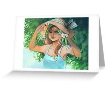 summer scent Greeting Card