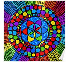 Sacred Geometry - Wheel Of Fortune Poster