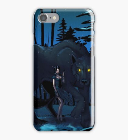 Cry, Wolf iPhone Case/Skin
