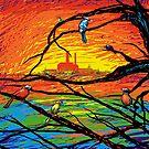 Chernobyl Birds by Aimee Cozza