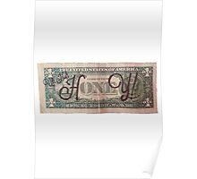 One Dollar HONEY Poster