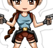 Tomb Raider Chibi Lara Sticker