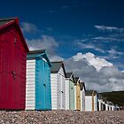 Beach Huts by Rob Lodge