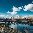 Bidean nam Bian, Highlands, Scotland by Alessio Michelini