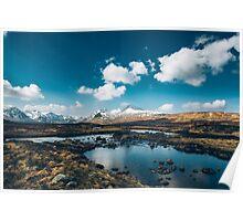 Bidean nam Bian, Highlands, Scotland Poster
