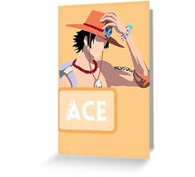 Hiken no Ace Greeting Card