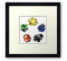 Mana Colour Wheel Framed Print