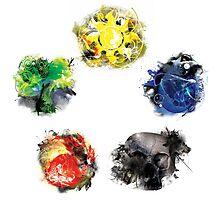 Mana Colour Wheel Photographic Print