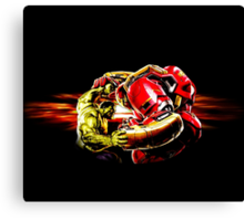 Hulkbuster vs. Hulk Canvas Print
