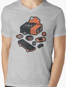 9 Volt True Form Mens V-Neck T-Shirt