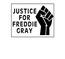 Justice For Freddie Gray Photographic Print