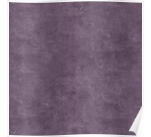 Vintage Violet Oil Pastel Color Accent Poster