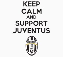 Keep calm and support juventus Kids Clothes