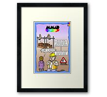 The truth of Bricklaying Framed Print