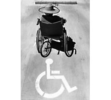 Wheelchair Parking Only Photographic Print