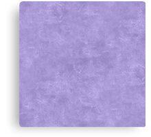 Violet Tulip Oil Pastel Color Accent Canvas Print