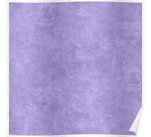 Violet Tulip Oil Pastel Color Accent Poster
