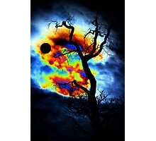 Angry skies / Wuetender Himmel Photographic Print