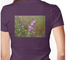 Oregon's wildflowers Womens Fitted T-Shirt
