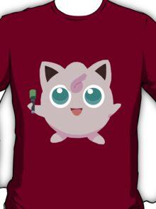 Jigglypuff Pokemon Simple No Borders T-Shirt