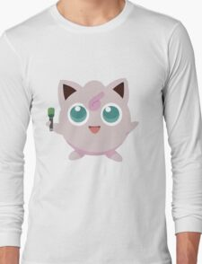 Jigglypuff Pokemon Simple No Borders T-Shirt