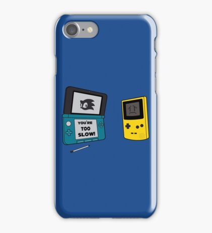 You're Too Slow iPhone Case/Skin