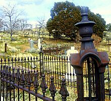 "Virginia City Cemetery"" by Lynn Bawden"