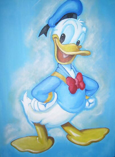 Donald Duck by Deborah Boyle