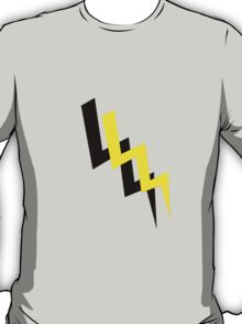 Black and yellow lightning T-Shirt