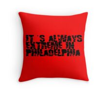 Always Extreme in Philly - ECW! Throw Pillow