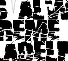 Always Extreme in Philly - ECW! Sticker