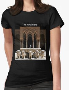Alhambra, Granada, Spain Womens Fitted T-Shirt