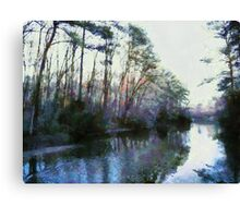 Newport News Sunset Canvas Print
