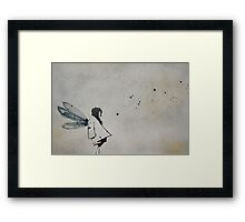 'i wanted to fly' Framed Print