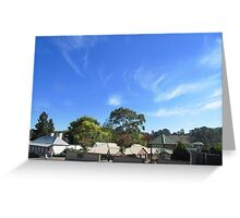Autumn Leaves showing in 'Lobethal', Adelaide Hills! Greeting Card