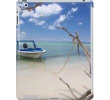 Cozumel, Mexico - Drift Away iPad Case/Skin