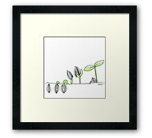 germinate Framed Print