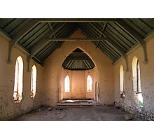 Abandoned by the Congregation. Photographic Print