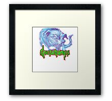 goosebumps Framed Print