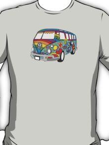 Painted VW Hippie Van  T-Shirt