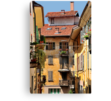 Italian Balconies and Doors 2 Canvas Print