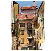Italian Balconies and Doors 2 Poster