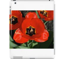 Seriously, Stop and Smell these Tulips iPad Case/Skin