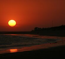 Rota (Spain) sunset by fototaker