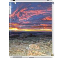 Cadillac Mountain 5:31 am iPad Case/Skin