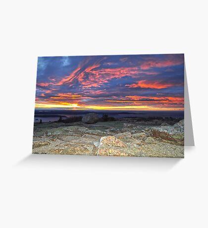 Cadillac Mountain 5:31 am Greeting Card