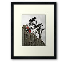 windswept 3 Framed Print