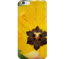 Stop and Smell the Yellow iPhone Case/Skin