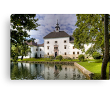Schloss Rothenthurn Canvas Print